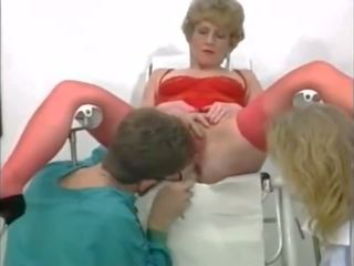 Kinky Threesome at the Gyneco, Free Fisting Porn Video 95