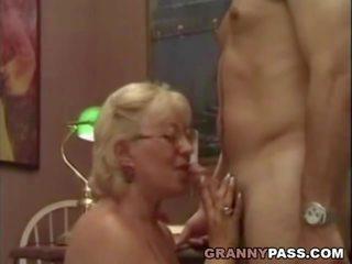 Granny Teacher Flirts with Her Student, Porn 75