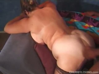 Fat white asshole fucked by black cock