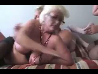 Matures Orgy: Free Granny Porn Video 95