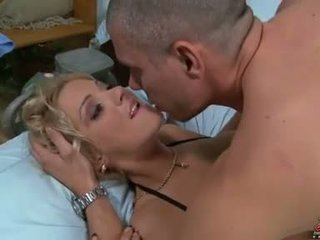 Juicy Pearl getting her cunt drilled by a long hard cock