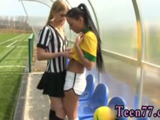 Brazilian Player Screwing The Referee