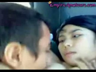 Chinese Couple Fucking In Car