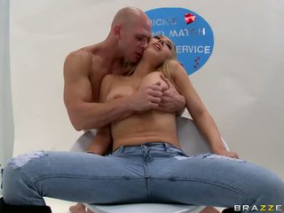 Kagney Karter big titty babe played by a horny hunk