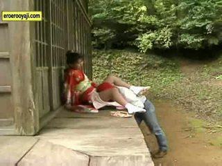 Outdoor kimono hardcore