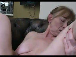 Granny lesbo