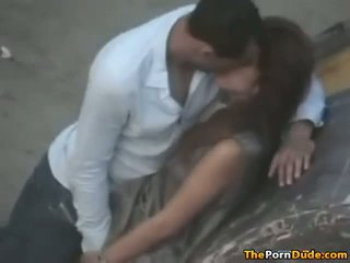 Teen Lovers Making Out In Public And Caught On Tap