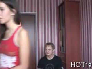 Stranger Bonks Hawt Attractive Teenie