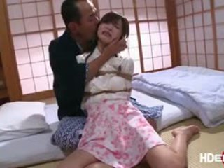 Moe Loves Getting Fuck While Being Tied