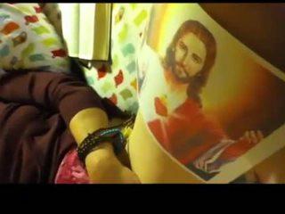 Amateur church girl part 4 Masturbating t ...