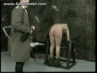 Bdsm clip of girl getting her ass spanked