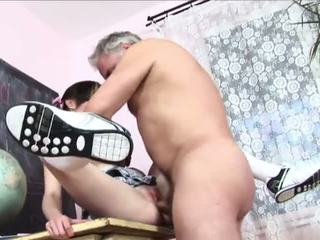 Daddy Teaches School-Girl A Lesson - Porn Video 791