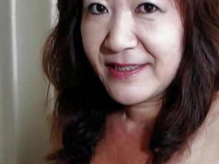 Japanese Granny Shows Tits and Pussy, HD Porn ae