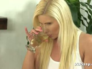 Hot Blonde Whore Vanessa Hell Isn't Satisfied With Just