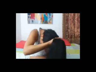 Latina Hairjob Long Hair Hair, Free Amateur Porn Video 87