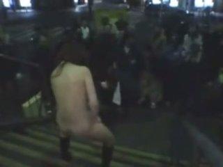 Japanese Sex Slave Masturbates In Public 2
