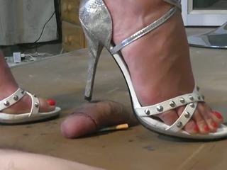 Geile Sandaletten: Free Footjob HD Porn Video 53