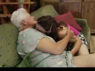 Lesbian Granny: Free Lesbian Porn Video c9