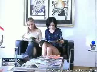 yummi lesbian babes drinking piss and toying pussies