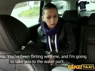 Hottie pussy fucked with pervert driver