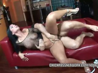 Czech hottie Simone Style takes some dick in the ass