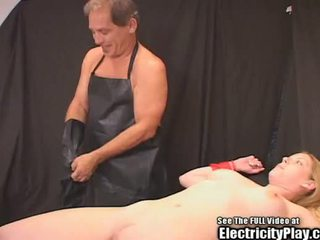 Candi Apple Bondage ELECTRO THERAPY!