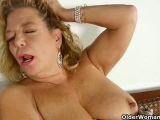 Luscious milfs get overwhelmed with lust