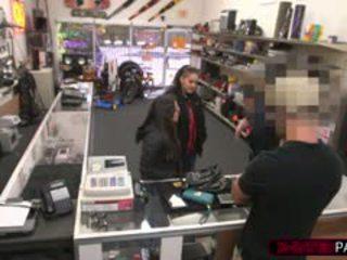 Lesbians Gets Humilated At Pawnshop