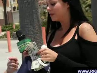 MoneyTalks - Sexy slut babes fucked in public 09