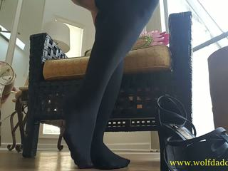 Elegant Goddess Rewards Foot Slaves with Squirt: HD Porn d8