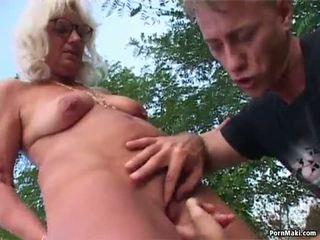Granny Outdoor Sex