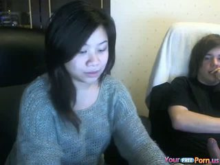 Asian Mature Girlfriend Fucks Young Cock