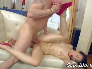 Gaping Eurobabe Assfucked and Fingered, Porn 84