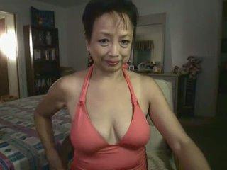 Granny Masturbating On Web-cam