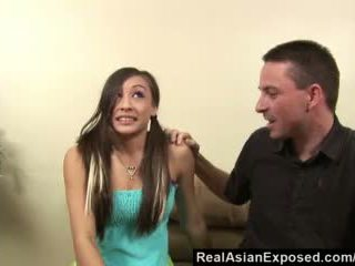 Realasianexposed - Asian Babysitter Gives Torrid Sex to Keep Her Job Video
