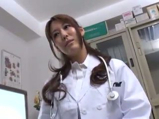 Bigtitted Oriental Doctor Has Shaged In Her Consulting Room