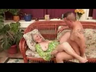 Ancient Granny Loves Sex Poolside