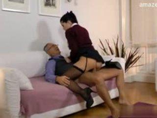 Busty Daughter Cum Filled Ass
