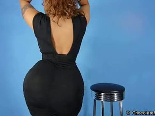 Best of Scarlett - Big Ass Latina Striptease
